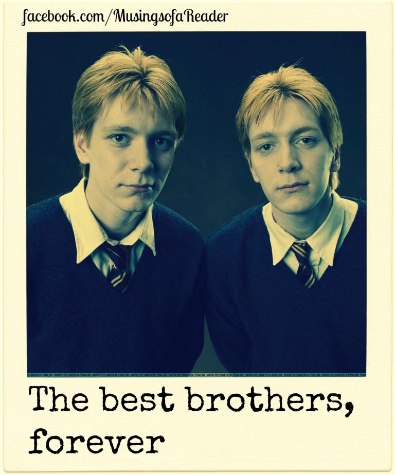 Brothers weasley